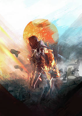 Battlefield Poster Poster