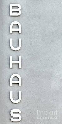 Bauhaus Phone Case Poster