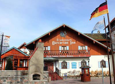 Bavarian Inn Frankenmuth Michigan Poster