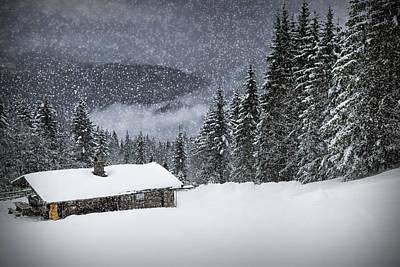 Bavarian Winter's Tale II Poster by Melanie Viola