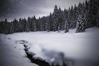 Bavarian Winter's Tale Vii Poster by Melanie Viola