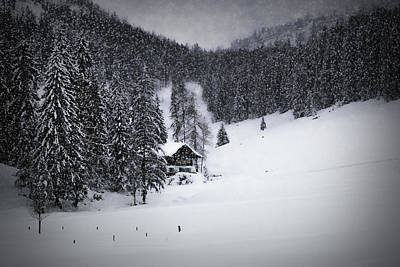 Bavarian Winter's Tale Ix Poster by Melanie Viola
