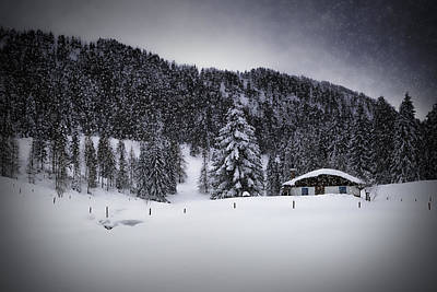 Bavarian Winter's Tale Viii Poster by Melanie Viola