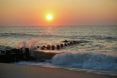 Bay Head Beach Sunrise 1 Poster