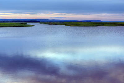 Bay Of Fundy - Nova Scotia - High Tide Poster by Nikolyn McDonald