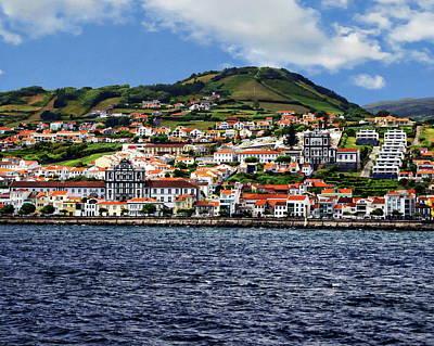 Bay Of Horta Poster