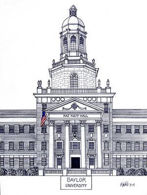 Baylor University Poster by Frederic Kohli
