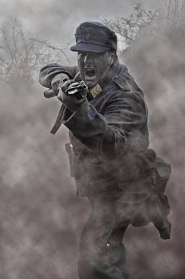 Bayonet Warrior Poster by Mark H Roberts