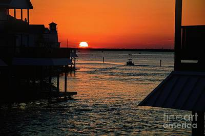 Bayou Vista Sunset Poster