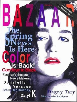 Bazaar Magazine Cover Poster