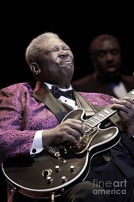 B.b. King Poster by Concert Photos