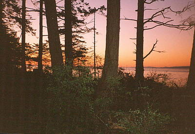 Bc Sunset Photograph Poster by Kimberly Walker