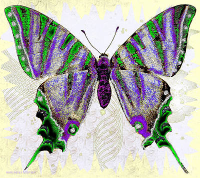 Be Who U R Butterfly Poster