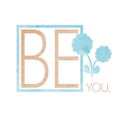 Be You Bronze Poster