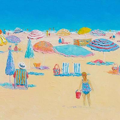 Beach Art - Every Summer Has A Story 2 Poster by Jan Matson