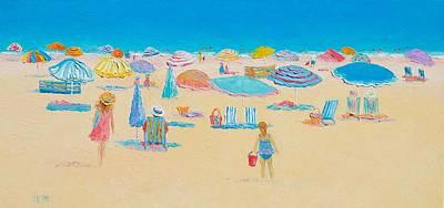 Beach Art - Every Summer Has A Story Poster by Jan Matson