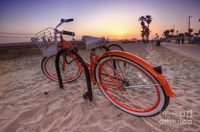 Beach Bike Poster