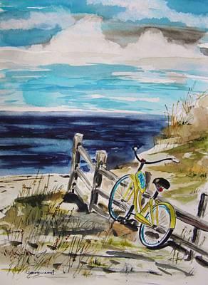 Beach Cruiser Poster by John Williams