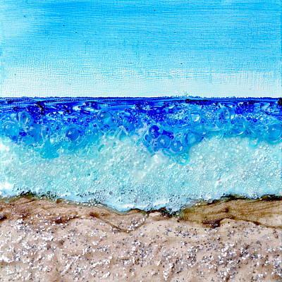 Beach Day Poster by Regina Valluzzi