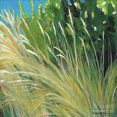 Beach Grass 1 Poster by Melody Cleary