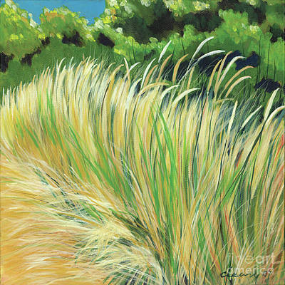 Beach Grass 4 Poster by Melody Cleary
