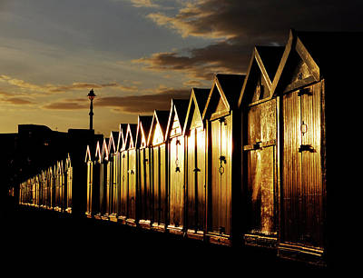 Beach Huts Poster by Dutourdumonde Photography