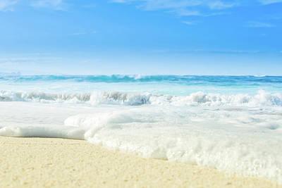 Beach Love Summer Sanctuary Poster by Sharon Mau