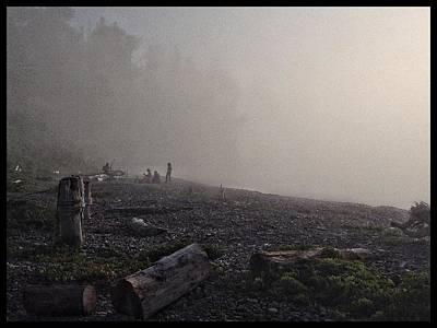 Beach Mist  Poster