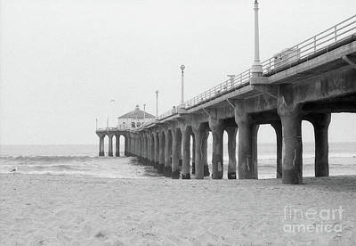 Beach Pier Film Frame Poster