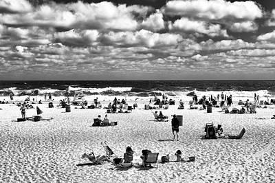 Beach Real Estate Mono Poster