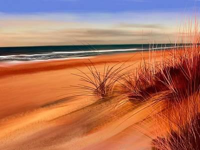Beach Sand Dunes Poster