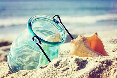 Beach Still Life Poster
