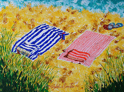 Beach Towels  Poster