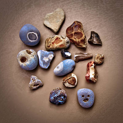 Beach Treasures Poster by Loriental Photography