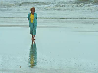 Beach Walkin' Poster