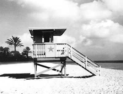 Beach Watch Variant 2 Poster
