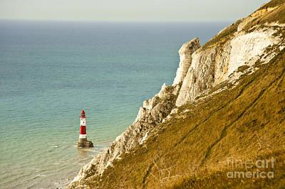 Beachy Head Lighthouse Poster