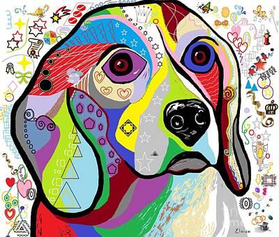 Beagle Poster by Eloise Schneider