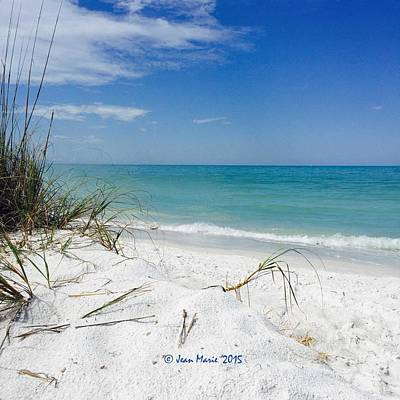 Poster featuring the photograph Bean Point, Anna Maria Island by Jean Marie Maggi