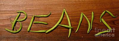 Beans Poster by Andreas Berheide