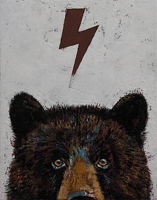 Bear Poster by Michael Creese