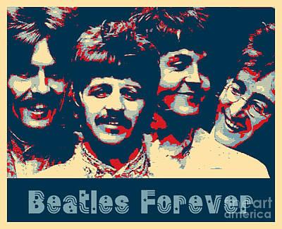 Beatles Forever Poster