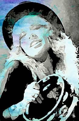 Beautiful And Soulful Stevie Poster by John Malone