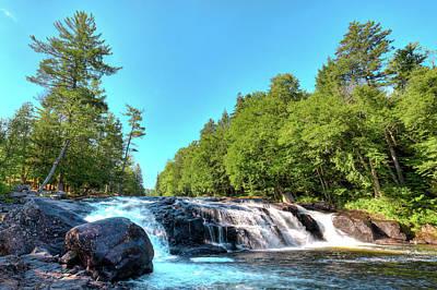 Beautiful Buttermilk Falls Poster