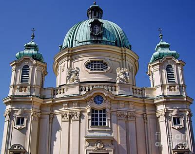 Beautiful Church In Austria Poster