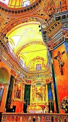 Beautiful Church In Nizza Poster