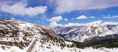 Poster featuring the photograph Beautiful Cottonwood Pass by Tim Reaves