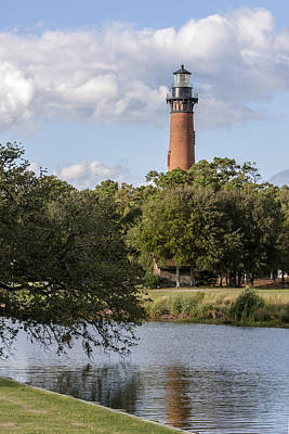 Beautiful Day At Currituck Beach Lighthouse Poster