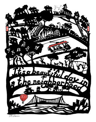 Beautiful Day Poster by Kathryn Carr