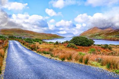Beautiful Irish Countryside Of County Galway Poster